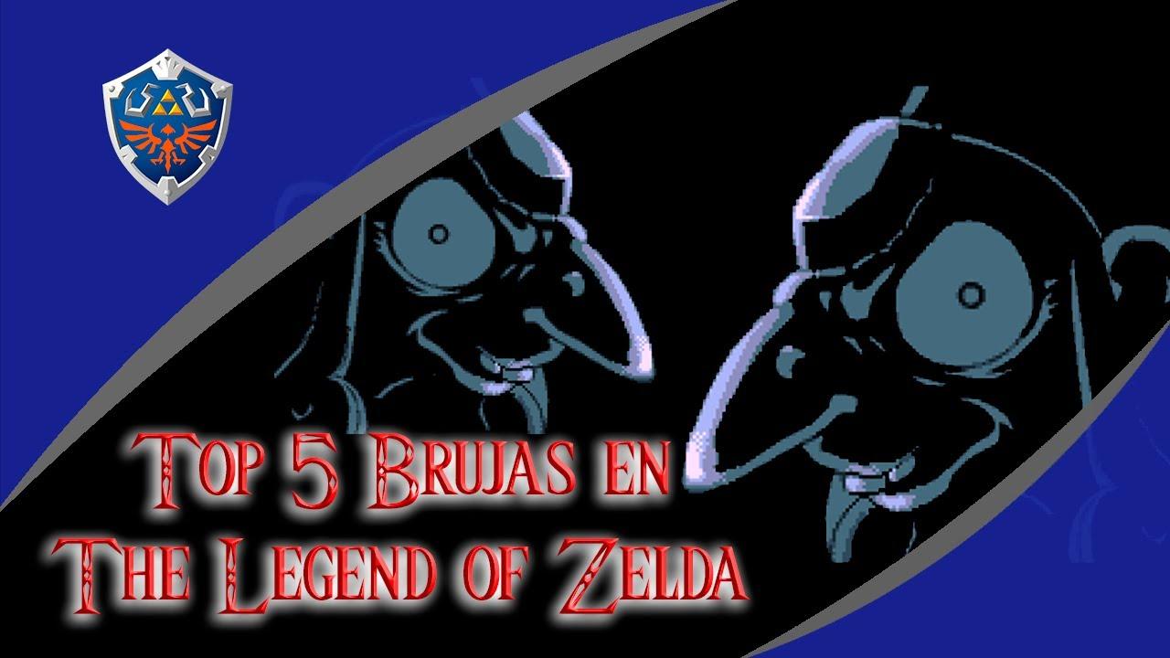 Top 5 / Brujas en The Legend of Zelda / Especial de Halloween 2020
