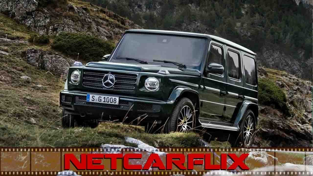 2020 Mercedes Benz G350 Driven in Forest and Offroad!