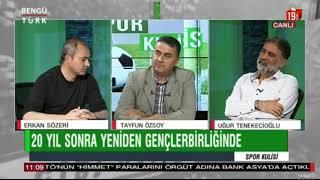 Gençlerbirliği teknik direktörü Erkan Sözeri, Bengütürk tv'de