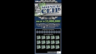 $10 - MONEY CLIP - NEW - WIN! Lottery Bengal Scratch Off instant tickets   NEWER TICKET WIN!!