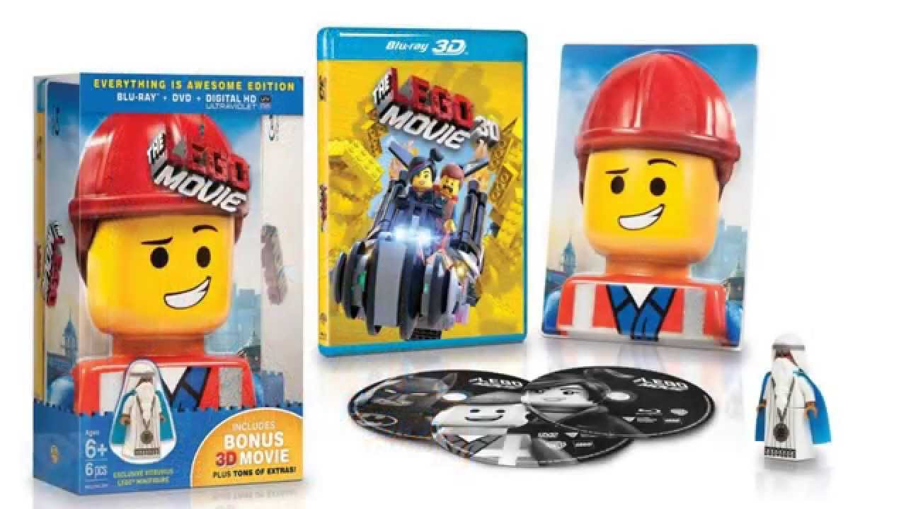 The lego movie (blu-ray steelbook) (hmv exclusive) [uk] | hi-def.
