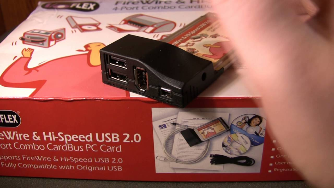 I O Flex Cardbus Firewire Card Ulead Video Studio SE 7 Quick Review