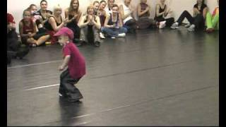 �������� ���� Самый юный педагог Танц-Отеля. Вероника, 6 лет! ������