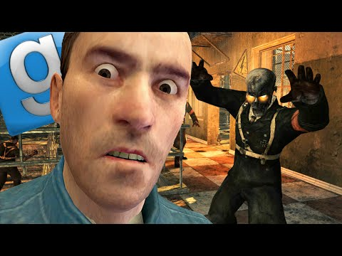 Garry's Mod Hide and Seek Fun - Zombies, Story Time, Role Reversal (Gmod Funny Moments)