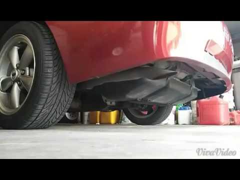 2003 mustang v6 stock exhaust start up