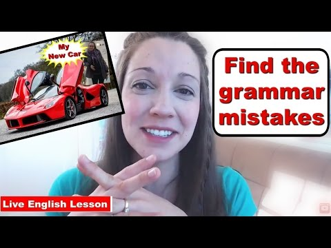 Grammar Test: Find the Mistakes [Advanced Grammar Lesson]