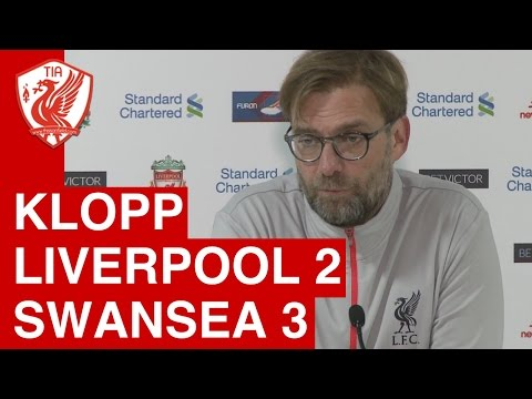 Liverpool 2-3 Swansea City - Jurgen Klopp's Post-Match Press Conference