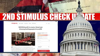 Second Stimulus Check and Stimulus Package UPDATE: Change.org Petition $2000 a month Stimulus Check