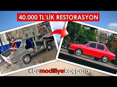 40.000 TL'lik RESTORASYON - Renault R12 TL (#bumodifiyekaçpara)