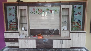 Modular tv cabinet design with details