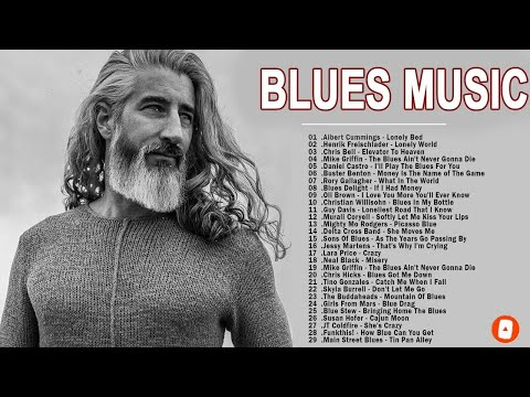 Relaxing Blues Music - Greatest Blues Rock Songs Of All Time - Slow Blues Blues Ballads Music