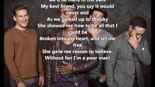 King of the world - Blue - Lyrics