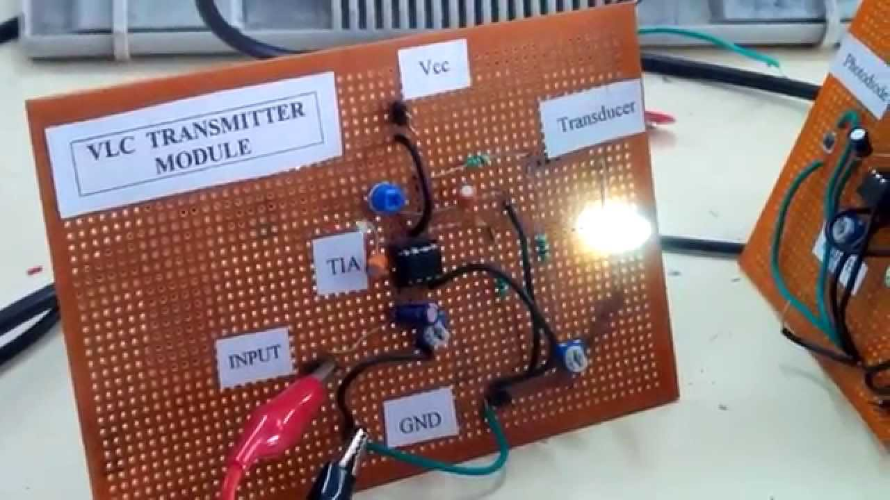 Mini project based on Li-Fi(Light Fidelity)concept - YouTube