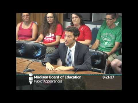 Board of Education Special Meeting 8/21/2017