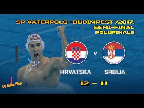 SP Vaterpolo HRVATSKA-SRBIJA 12-11 Golovi i najbolje /SP 2017/Semi Final 2017/CROATIA vs SERBIA