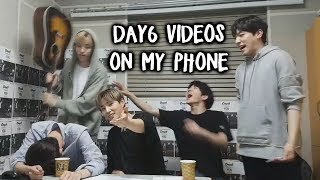 Apparently I have 500 Day6 videos on my phone so here are some of them [Phone Vids #3]