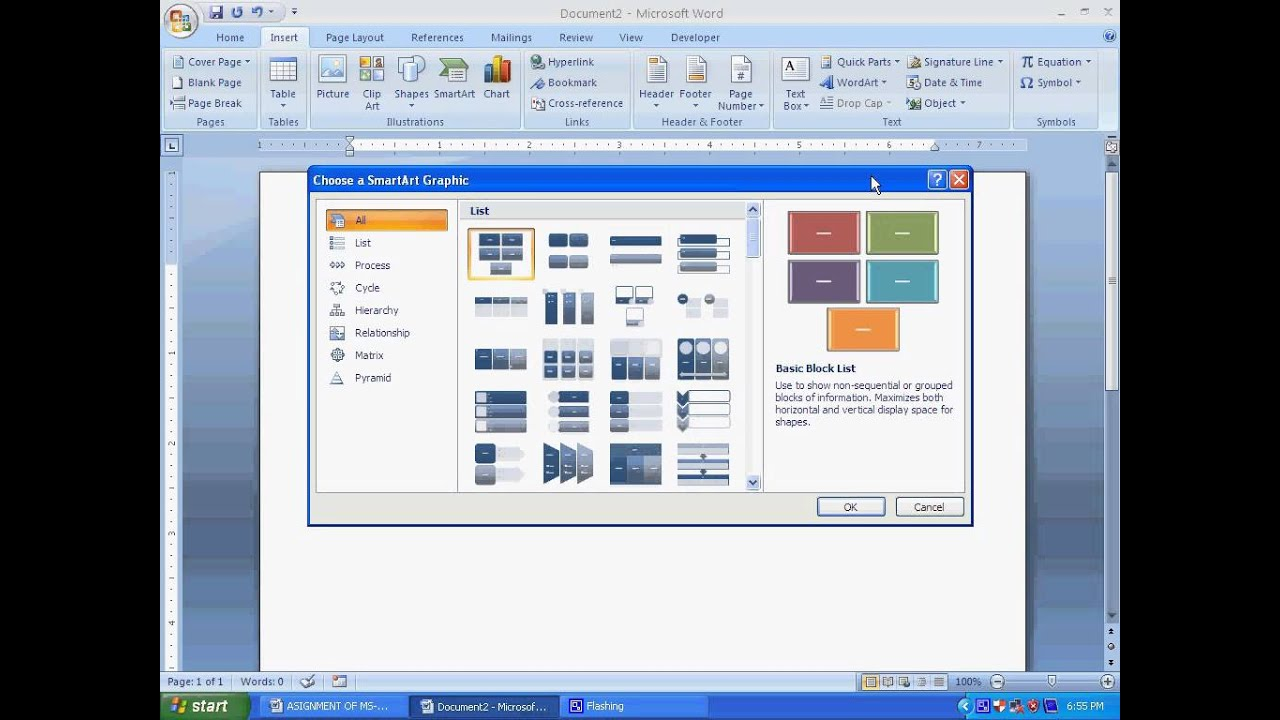 Microsoft Office Word 2007 Tutorial in Bengali (Part-4) How to ...