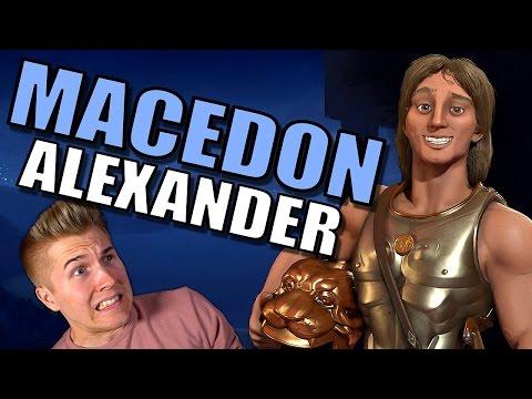 Civilization 6 Macedon | Alexander / Persia Scenario | Let's Play Civilization 6 Gameplay!