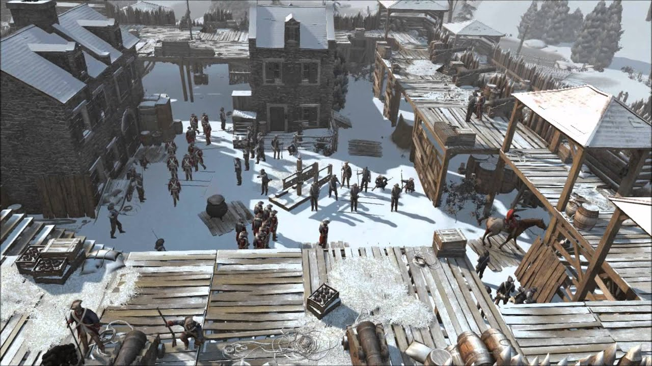 Assassin S Creed Iii Sequence 9 New York Forts Youtube