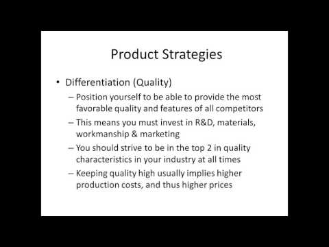 01 Product Business Strategy