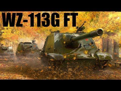 Pokaż co potrafisz !!! #1121 – WZ-113G FT + 10000 DMG