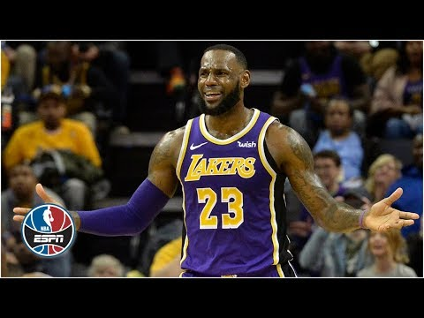 LeBron notches triple-double, Lakers fall to Grizzlies in Memphis | NBA Highlights thumbnail