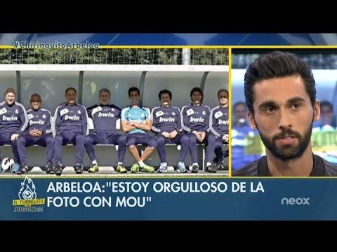 "Álvaro Arbeloa: ""Intento ser muy mourinhista"""
