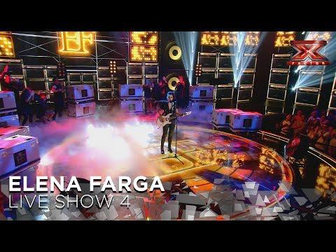 Elena Farga Hace Suya 'Billie Jean' De Michael Jackson | Directos 4 | Factor X 2018