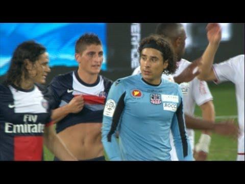 Memo Ochoa's exceptional game Vs PSG - Ligue 1- 2013/2014