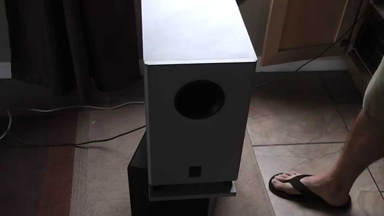 auctioned Onkyo SKW-320X Subwoofer Sound test Escondido