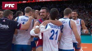 Srbija je u finalu Evropskog prvenstva u odbojci