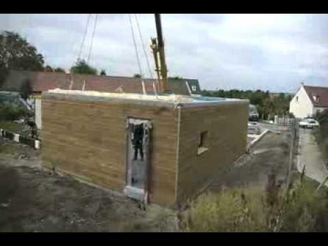 Construction d 39 une maison bbc ossature bois certifi e en 5 for Construction maison americaine
