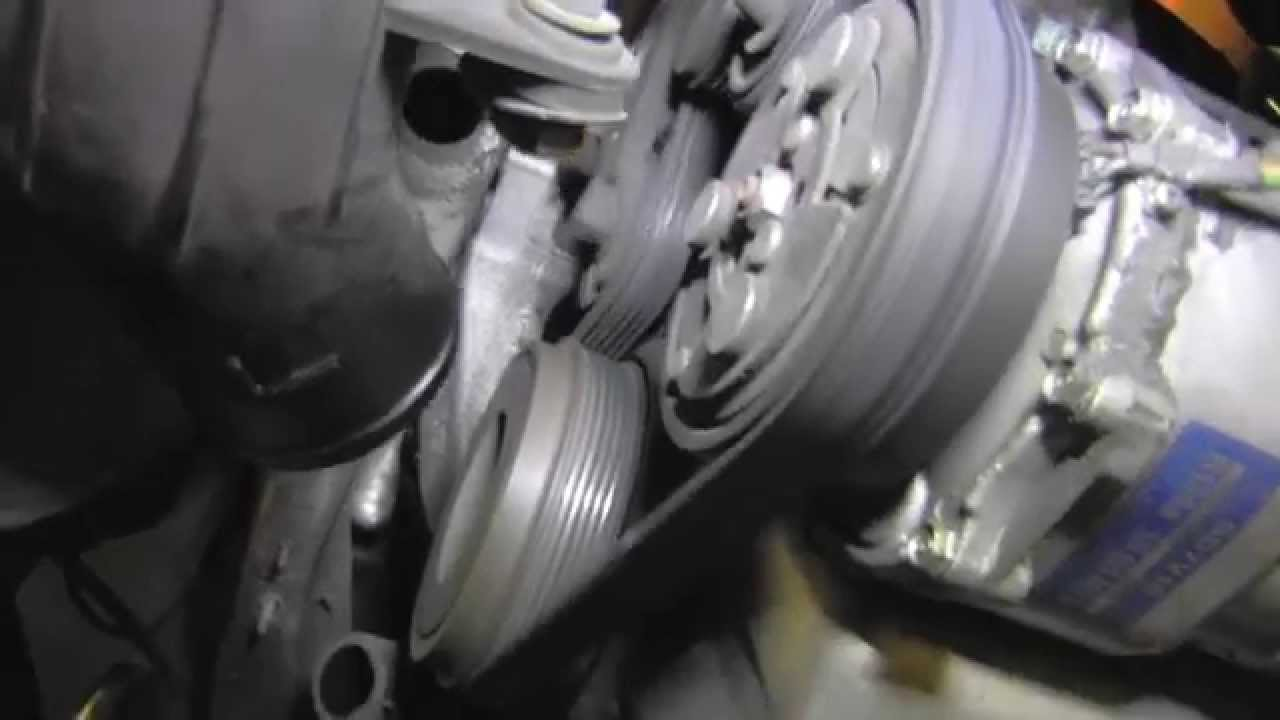 alternator pulley going bad