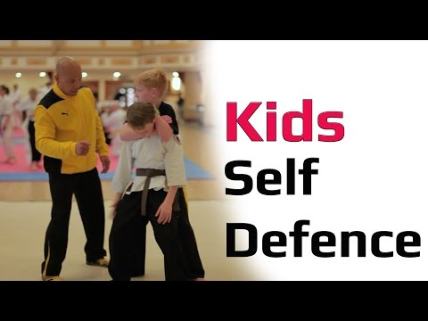 kids self defence class lesson