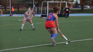 SUNY New Paltz Field Hockey 2018 SUNYAC Championship Game Highlights
