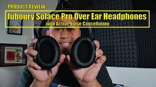 Video Juboury Solace Pro Over Ear Headphones with Active Noise Cancellation download MP3, 3GP, MP4, WEBM, AVI, FLV Agustus 2018