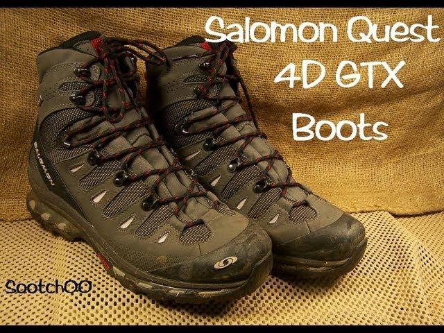 Lawn Care Salomon Quest 4D GTX Boots
