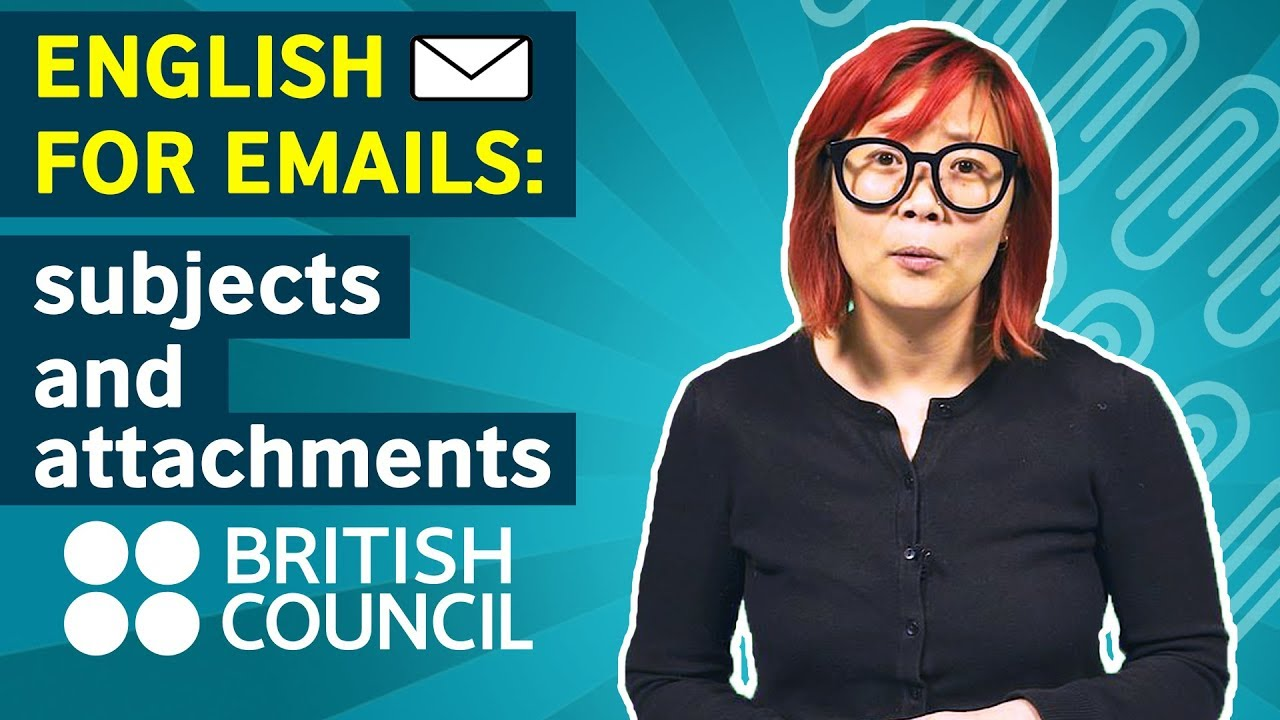 English for Emails: Subjects and attachments
