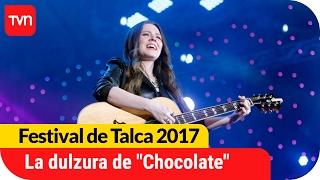 "La dulzura de ""Chocolate"" de Jesse y Joy | Festival de Talca 2017"