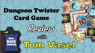 Dungeon Twister Card Game Review - with Tom Vasel