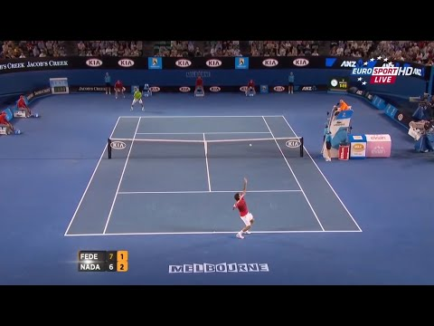 Nadal vs Federer - Australian Open 2012 (Highlights HD 720p50)