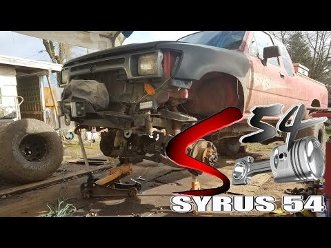 Understanding the Vacuum locking Front Axle of a Toyota Pickup