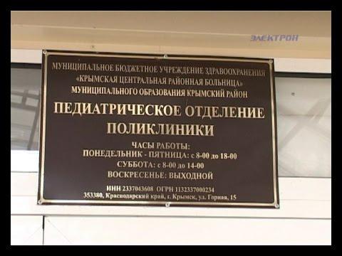 О ситуации с врачами в детской поликлинике рассказал главный врач Крымской ЦРБ
