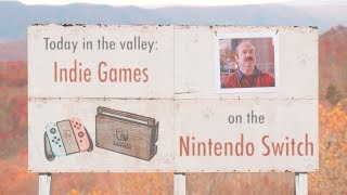 Indie Games on the Nintendo Switch - Part 8 | The Video Game Valley (Stream VOD)