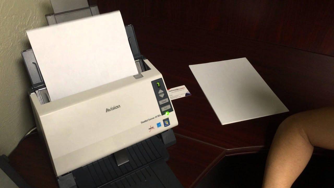 avision av185  high speed desktop document receipt photo scanner neat desk software canon