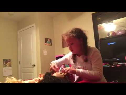 Getting Baby Doll Ready for Bed Videos for Kids