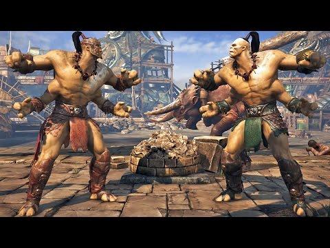 Mortal Kombat X: A História do Goro - Playstation 4 gameplay