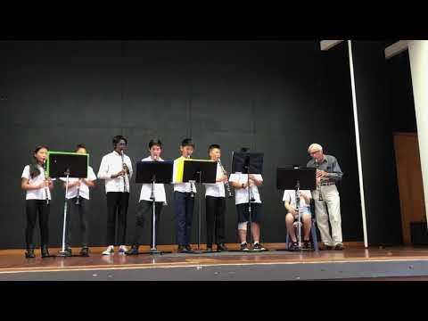Glenfield Music Centre - 2018 Annual Concert - Clarinet Ensemble - Banana Boat