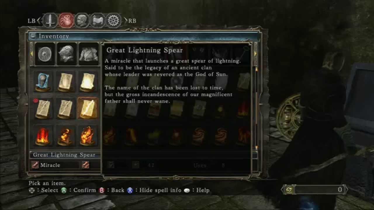 Location of Great Lighting Spear - Dark Souls 2 & Location of Great Lighting Spear - Dark Souls 2 - YouTube azcodes.com