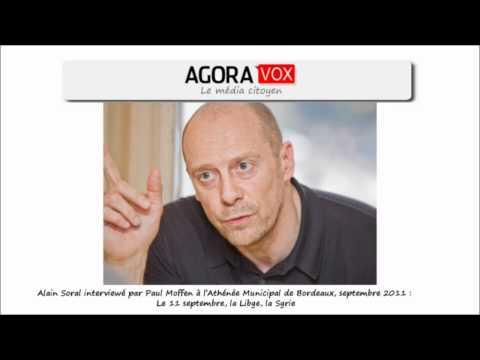 Alain Soral : Le 11 septembre, la Libye, la Syrie (Interview par Paul Moffen - sept 2011)